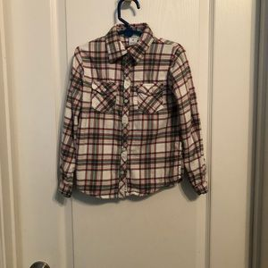 Carter's girl's plaid shirt